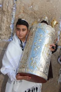 A Bar Mitzvah at the Western Wall. aliyah to the torah Jerusalem Israel